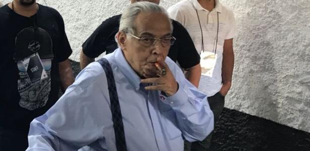Eurico após votar em eleição do Vasco; dirigente tenta reverter decisão desfavorável