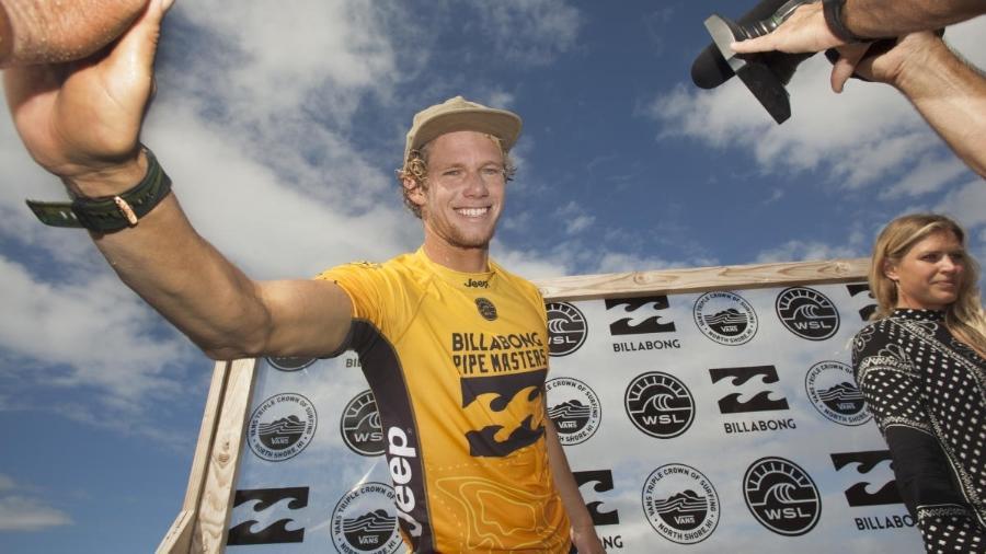 John John Florence sagrou-se bicampeão mundial de surfe - WSL / STEVE SHERMAN