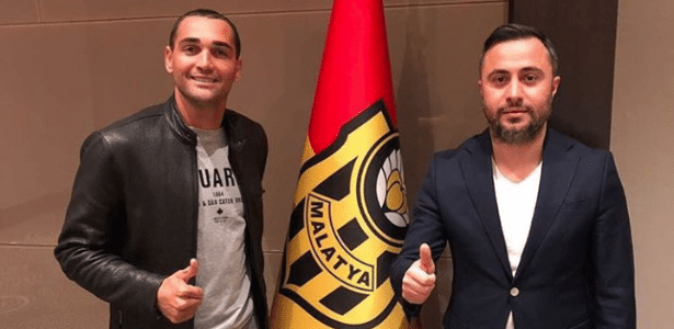Gilberto está no Yeni Malatyaspor, da Turquia