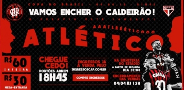 Atlético reduziu preços e liberou adereços e instrumentos: caldeirão contra o São Paulo