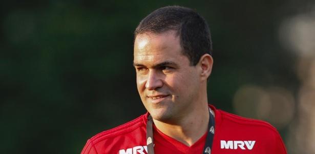 O treinador André Jardine tem a chance de mostrar serviço à frente da equipe do São Paulo, em 2019