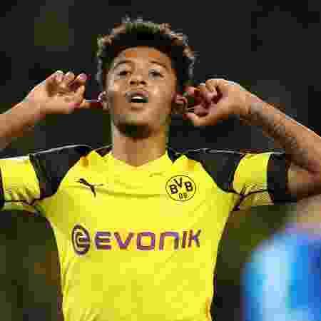 Sancho é alvo do Manchester United, mas pedido do Dortmund esfriou negociação - EFE/FRIEDEMANN VOGEL