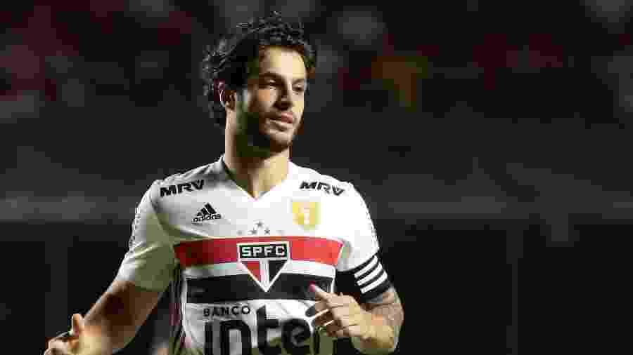 Hudson, do São Paulo, enfrenta o Palmeiras no Morumbi - Marcello Zambrana/AGIF