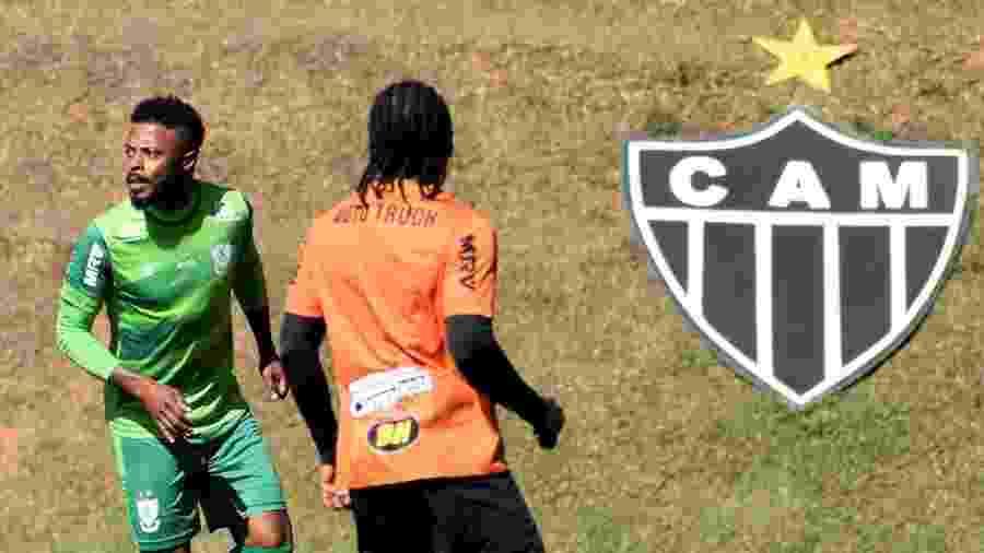 Michel Bastos em jogo-treino do América-MG contra o Atlético-MG - Divulgação/América-MG
