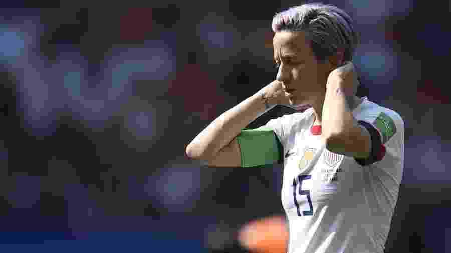 Projeto foi liderado por Megan Rapinoe, atacante da seleção feminina dos EUA - Christophe Simon/AFP