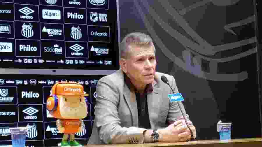 Paulo Autuori apresentado para o departamento de futebol do Santos - UOL