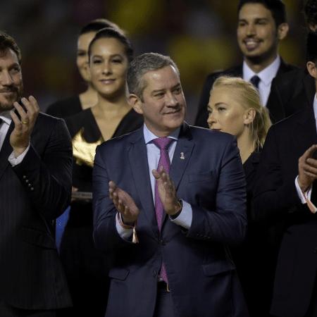 Presidente da CBF Rogério Caboclo durante a premiação da final do Mundial Sub-17 - Alexandre Loureiro/CBF