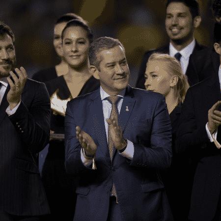 Presidente da CBF, Rogério Caboclo, durante a premiação da final do Mundial Sub-17 que foi realizado no Brasil - Alexandre Loureiro/CBF