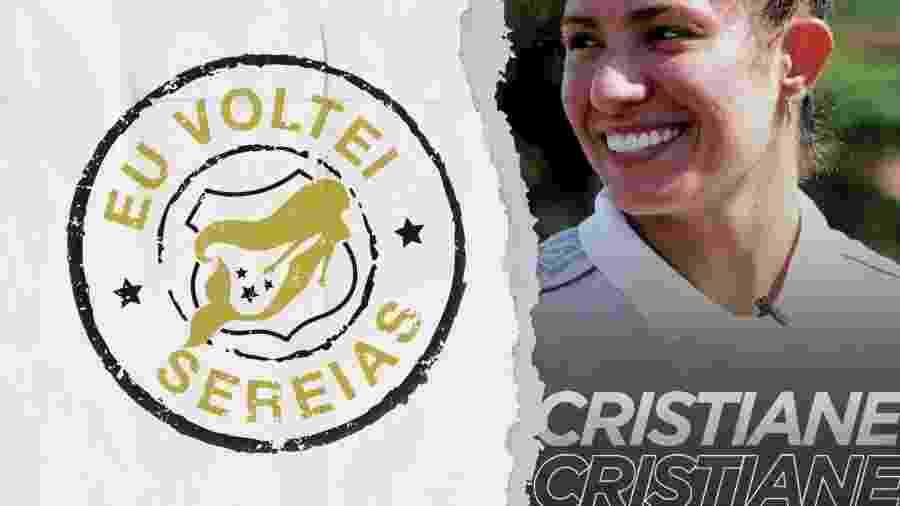 Santos anuncia contratação de Cristiane no mercado da bola - Reprodução