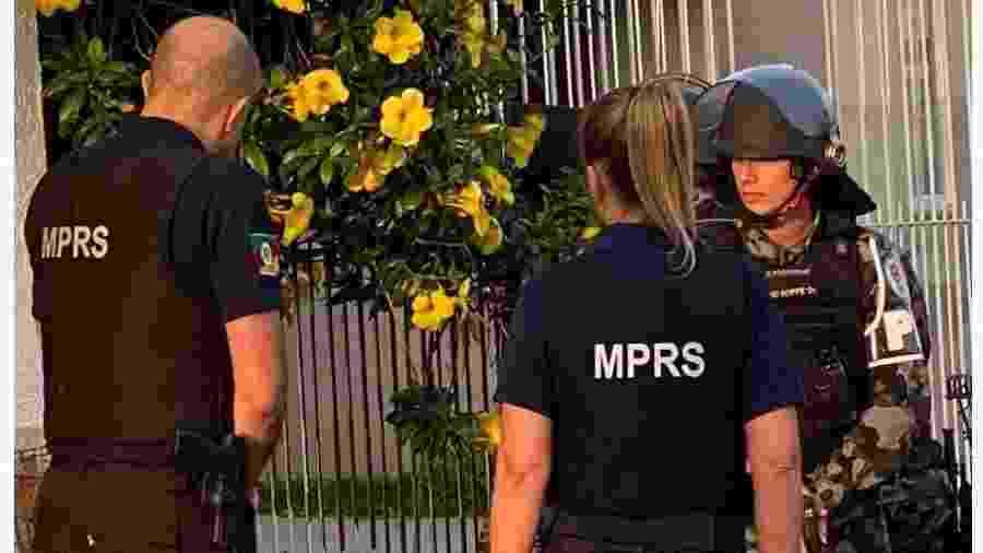 Torcidas organizadas do Internacional são alvos de operação policial - Divulgação/Ministério Público do Rio Grande do Sul