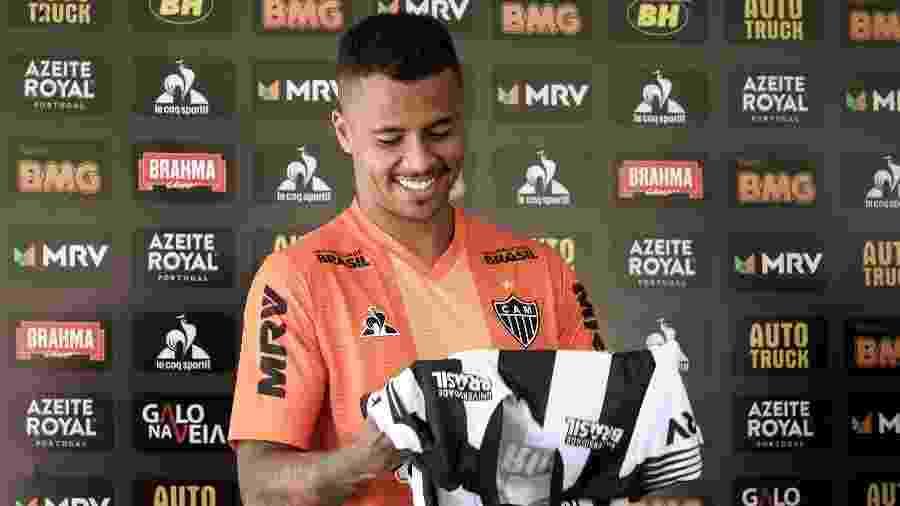 Allan, volante do Atlético-MG, será titular diante do Uberlândia - Bruno Cantini/Divulgação/Atlético-MG