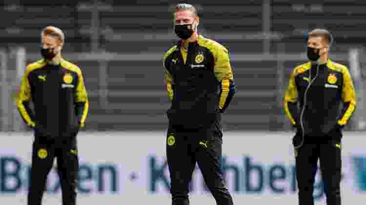 Borussia x Schalke 04 - Reprodução/Twitter/Borussia Dortmund - Reprodução/Twitter/Borussia Dortmund