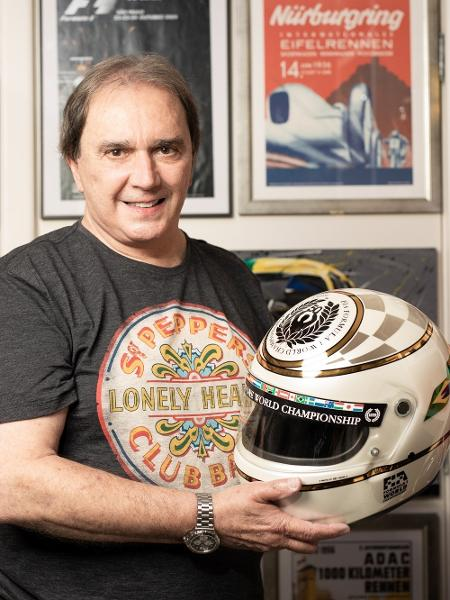 Reginaldo Leme, comentarista de Fórmula 1 na Band, participou normalmente da transmissão da corrida - Marcus Steinmeyer/UOL