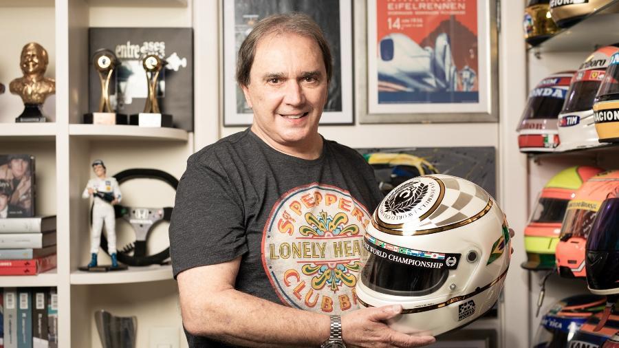 Reginaldo Leme em seu apartamento em São Paulo - Marcus Steinmeyer/UOL