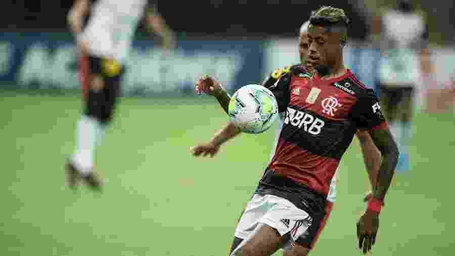 Bruno Henrique não foi convocado por Tite para a seleção brasileira - Jorge Rodrigues/AGIF
