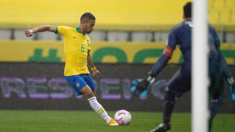 Titular da seleção, Renan Lodi é um dos laterais esquerdos mais caros do planeta - Lucas Figueiredo/CBF