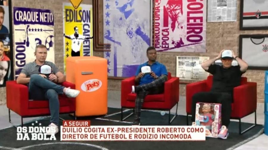 Edílson diz que Fernando Fernandes gosta de maconha e incomoda comentarista - Reprodução/Band