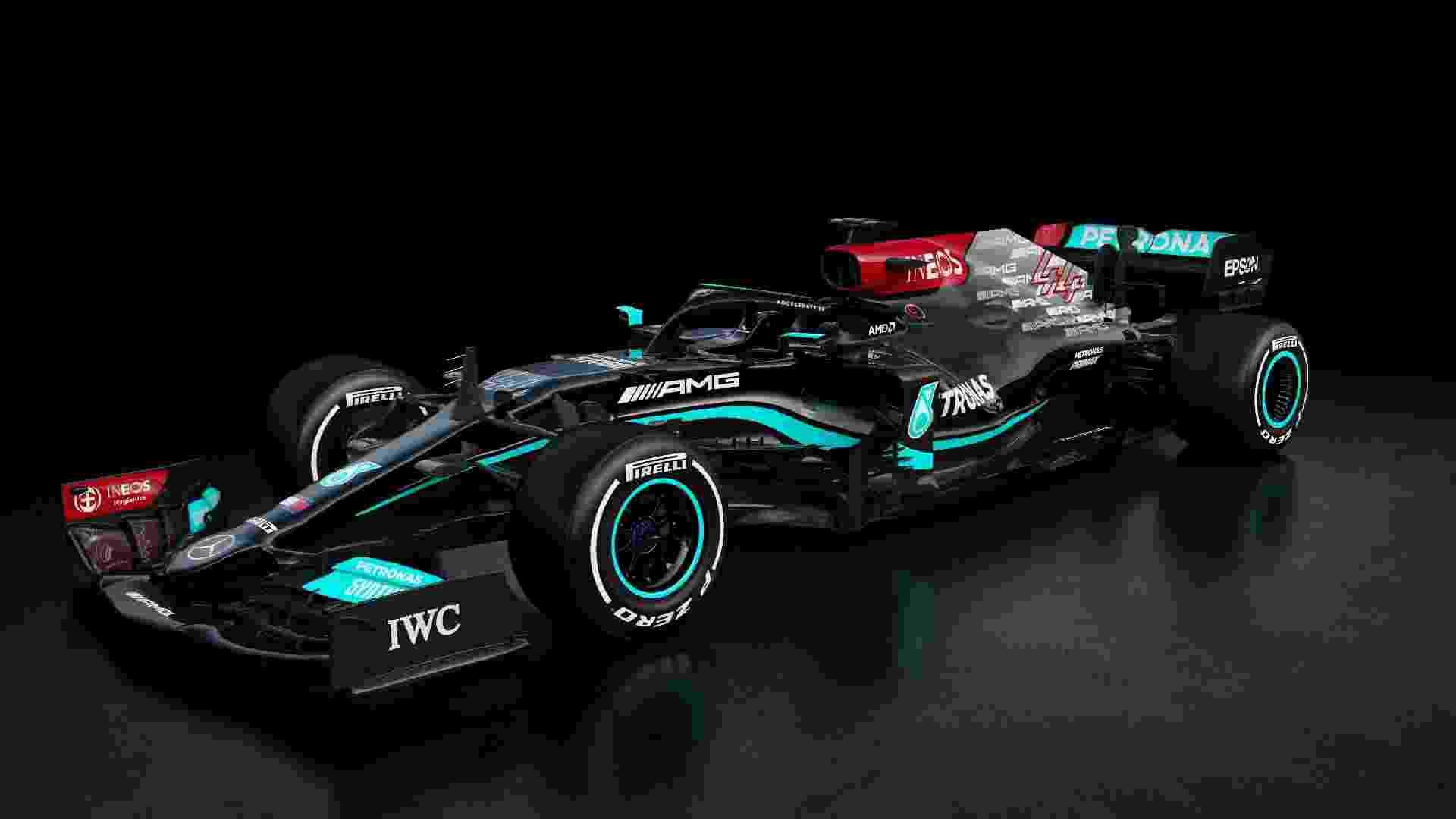 W12 é o último carro da Mercedes antes da mudança de regras de 2022 - Mercedes/Divulgação