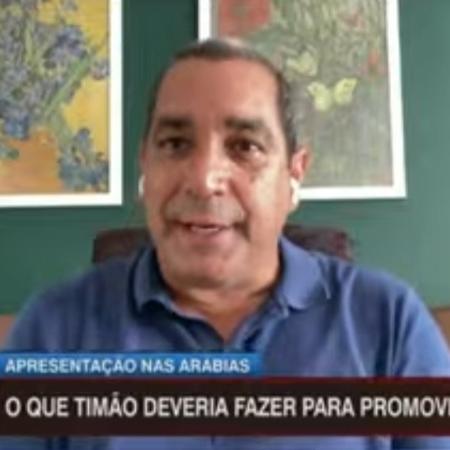 Zinho recorda receio de Paulo Nunes e Juninho em encarar o United no Mundial de Clubes - Reprodução/ESPN