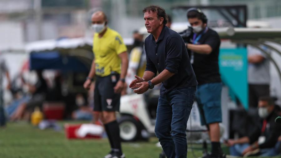 Cuca encerra polêmica envolvendo Hulk e promete conversa com Tchê Tchê por erros recentes nos jogos - Pedro Souza/Atlético-MG