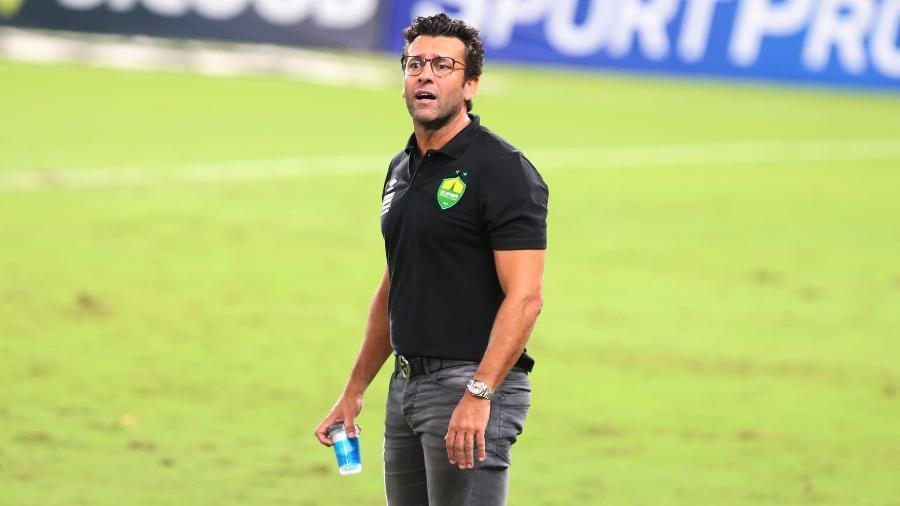 Alberto Valentim foi demitido pelo Cuiabá após primeira rodada do Brasileirão - Gil Gomes / AGIF