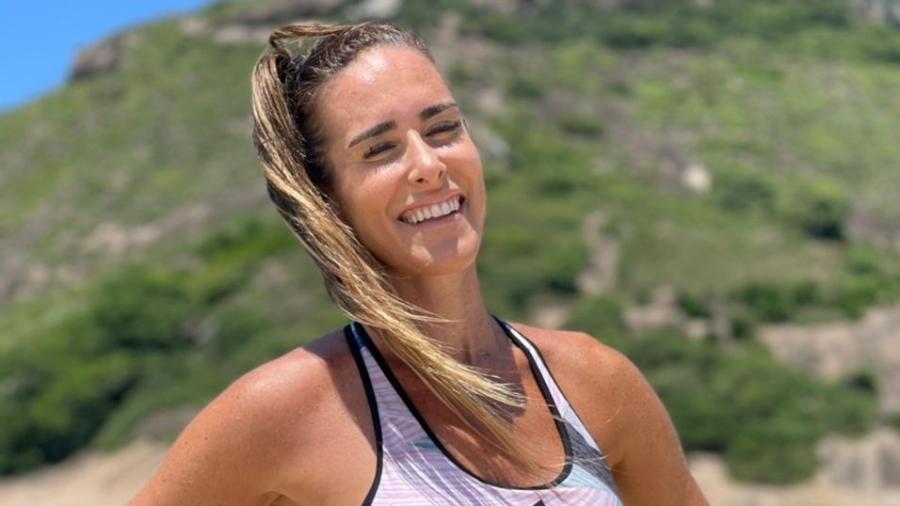 Natália Guitler assumiu a liderança do ranking de teqball de duplas mistas ao lado de Marquinhos Vieira - Divulgação
