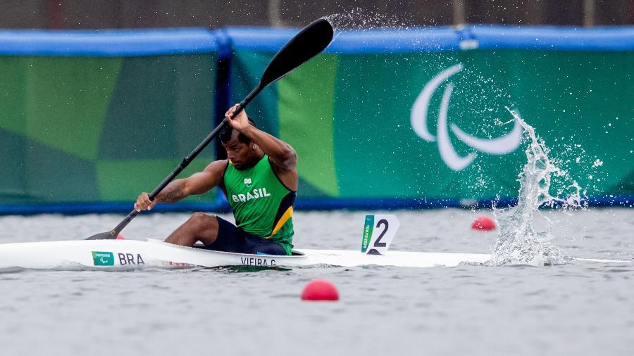 Giovane Vieira conquista medalha de prata na canoagem paralímpica - Miriam Jeske/CPB