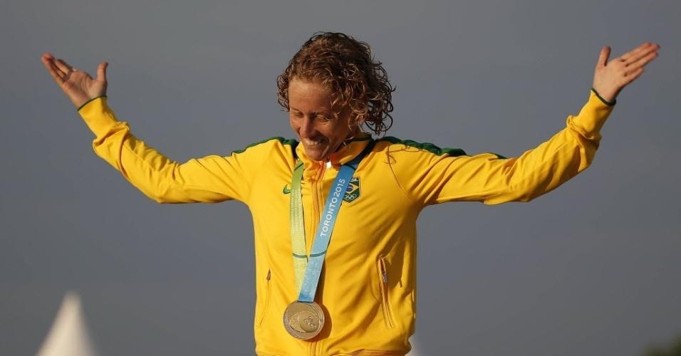 Yane Marques conquistou o ouro no pentatlon moderno