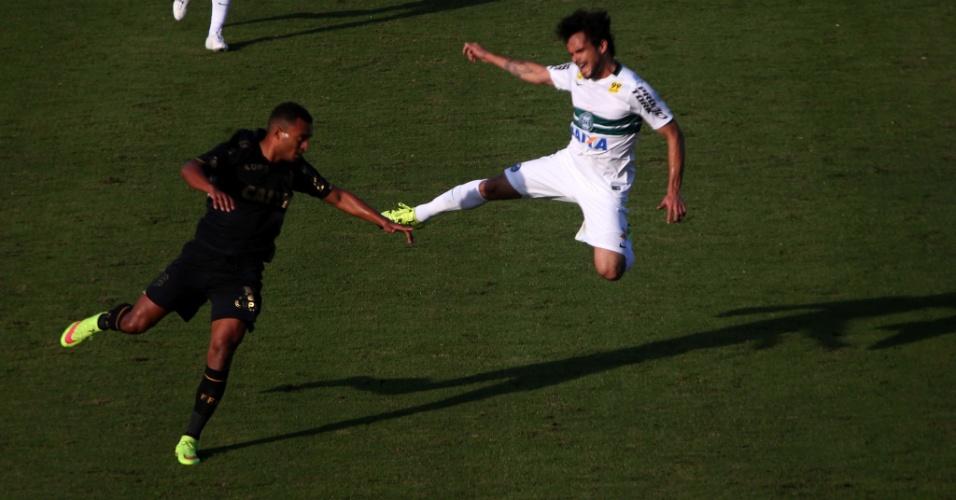 Figueirense empata em 0 a 0 com o Coritiba pelo Brasileirão