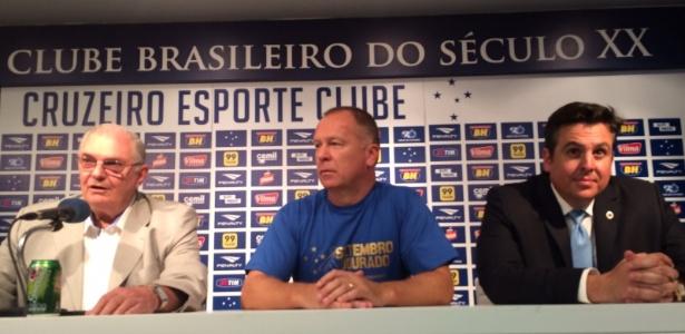 Presidente Gilvan, vice Bruno Vicintin e técnico Mano já pensam no time de 2017