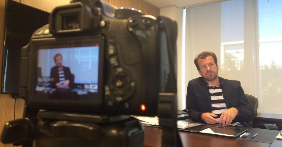 Dunga concede entrevista exclusiva para o UOL Esporte