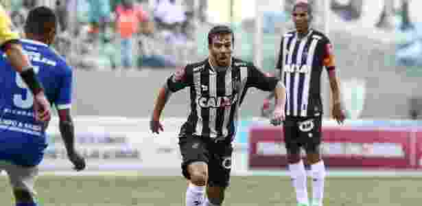 Volante Leandro Donizete vai desfalcar o Atlético-MG em pelo menos três partidas - Bruno Cantini/Atlético-MG