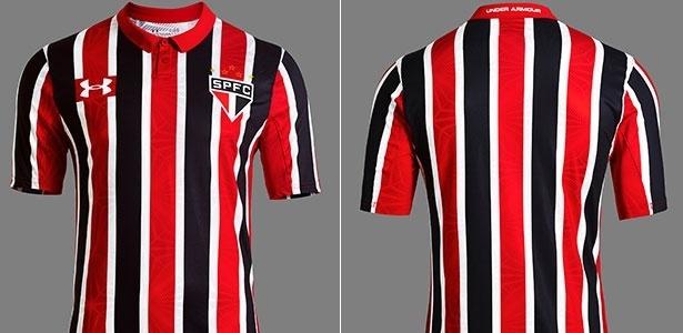 Os jogadores deverão vestir o novo uniforme nesta quinta-feira