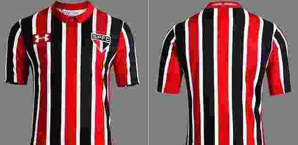 Nova camisa do São Paulo - Divulgação
