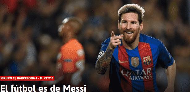 Messi - Reprodução - Reprodução