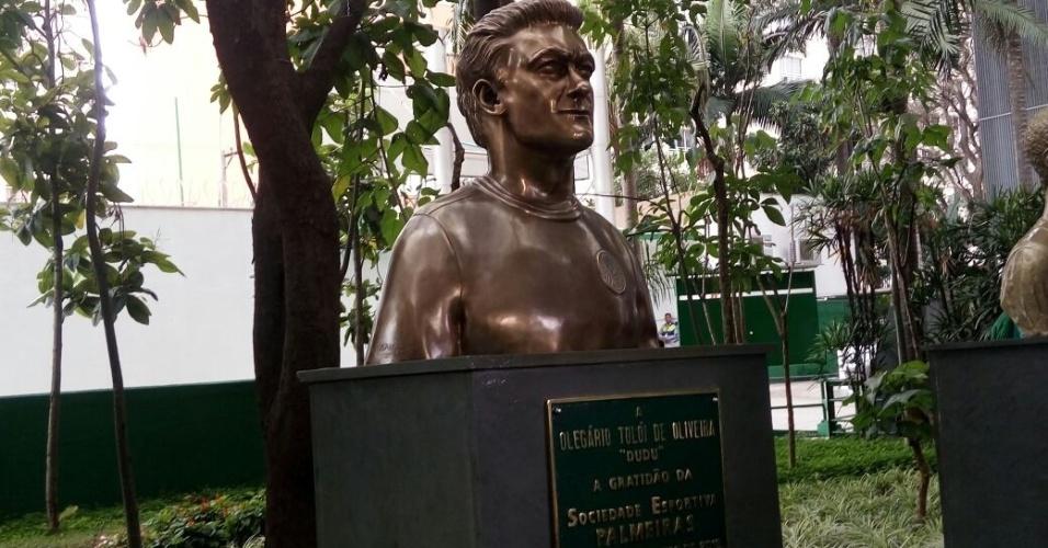 Dudu foto busto Palmeiras