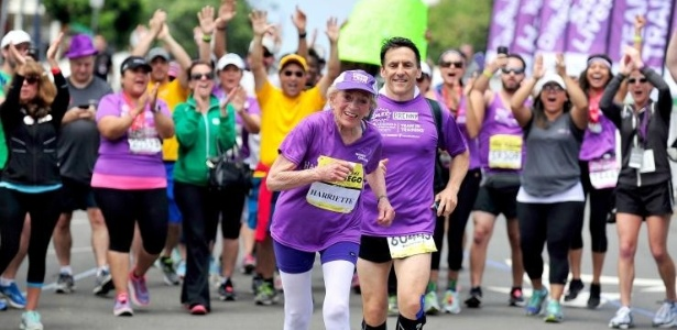 Harriette Thompson, aos 92, fez a maratona em 7h24min36