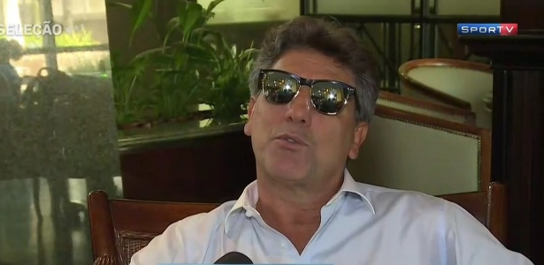 Renato Gaúcho em entrevista ao SporTV após título da Copa do Brasil