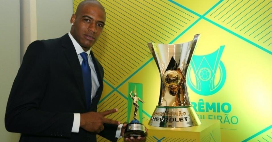 Jailson levou o prêmio de melhor goleiro do Campeonato Brasileiro