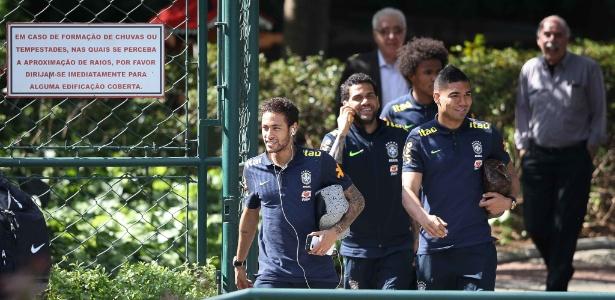 Neste ano, seleção brasileira já usou o CT da Barra Funda para treinar