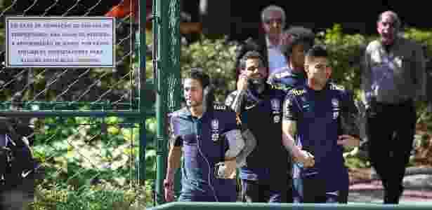 Neste ano, seleção brasileira já usou o CT da Barra Funda para treinar - Pedro Martins/ MoWa Press
