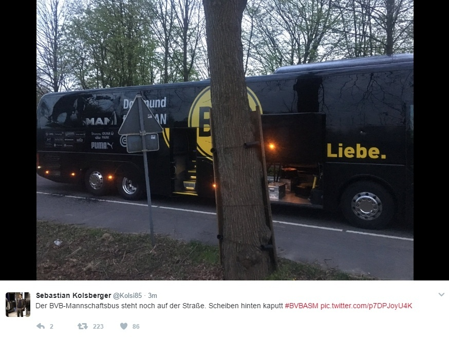 Ônibus do Borussia