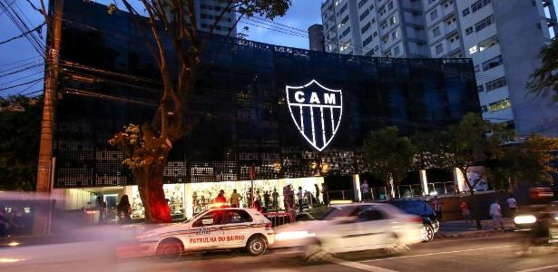Manhã de quinta foi de presidente na Cidade do Galo e protesto na sede do Atlético-MG