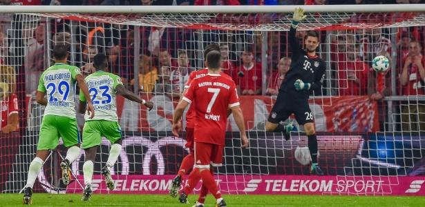 Ulreich falha em ação pelo Bayern de Munique
