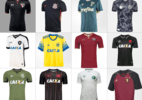 Qual o terceiro uniforme mais feio do futebol brasileiro? - Arte/UOL