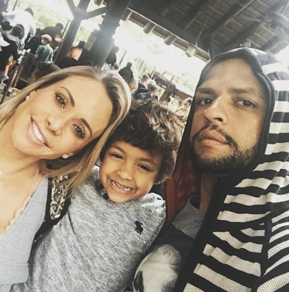 Destino preferido! Felipe Melo e sua família também estão curtindo Orlando (EUA).