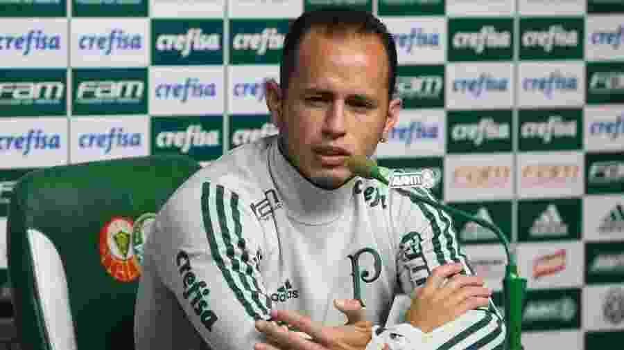 Guerra é um dos quatro atletas do elenco profissional que ainda não jogaram em 2019 - Cesar Greco/Agência Palmeiras