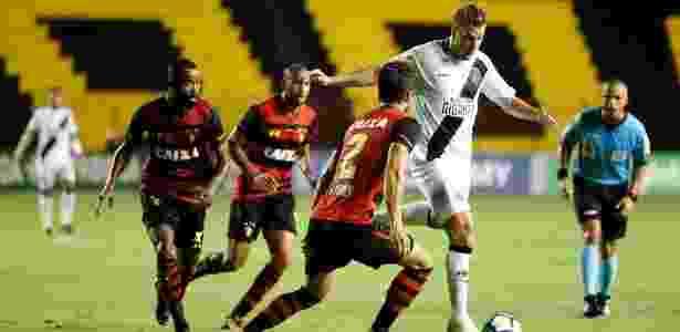 Maxi López, atacante do Vasco, durante jogo contra o Sport - Carlos Gregório Jr/Vasco.com.br - Carlos Gregório Jr/Vasco.com.br