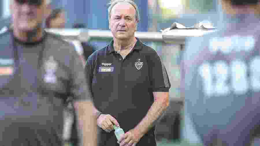 Levir Culpi, técnico do Atlético-MG, faz análise sobre atuação contra o Defensor - Bruno Cantini/Divulgação/Atlético-MG