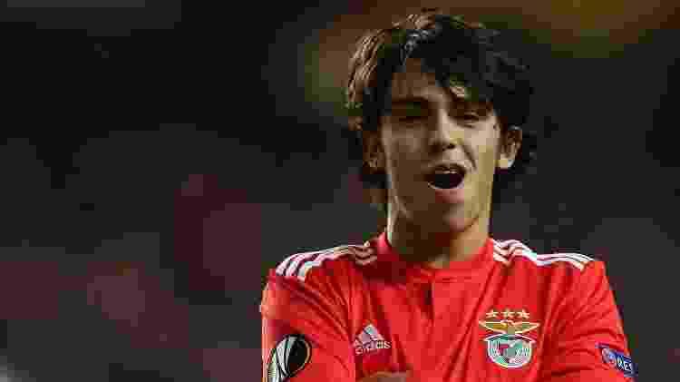 Pelo Benfica, João Félix cresceu na segunda metade da temporada e se tornou protagonista aos 19 anos - Gualter Fatia/Getty Images